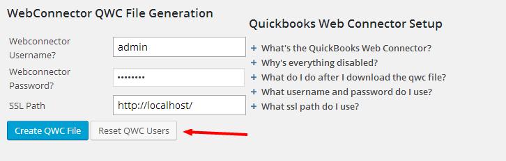 Quickbooks ‹ — WordPress
